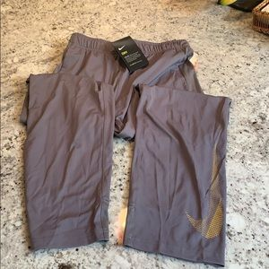 NWT Bogs Gray Nike Pants